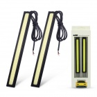 Merdia 6W 1600lm 6000K COB White Light Daytime Running Light for Car (12V / 2 PCS)