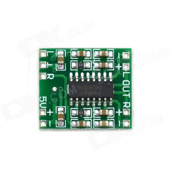 MaiTech DIY 2 x 3W Power Amplifier Board Module - Green