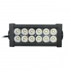 Guleek GLK-A036F 36W 2520lm 6000K 12-Epistar LED Flood White Light Working Lamp Bar for Car / Boat