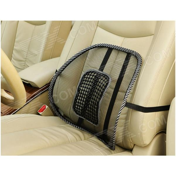 hy01 mesh massage car seat cushion waist pad black free shipping dealextreme. Black Bedroom Furniture Sets. Home Design Ideas