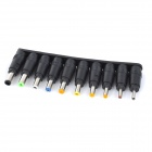 WB-34-1 Universal Connector Adapter Set for Laptop Notebook Maintenance - Black + Multicolored