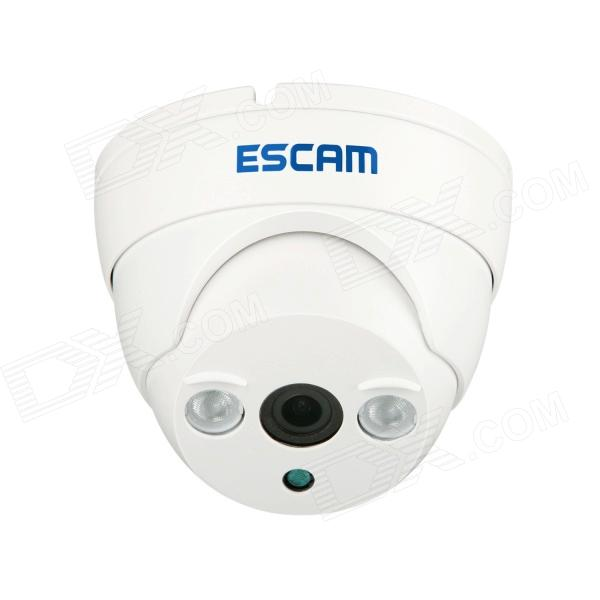ESCAM ET QD530 P2P 720P CMOS 3.6mm Lens Network IP Camera w/ 2-IR LED - White (EU Plug)