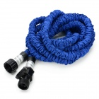 US Standard 25ft Home Garden Flexible Natural Latex Water Pipe - Blue
