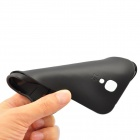 Protective Plastic + TPU Plastic Back Case for Samsung S4 i9500 - Black