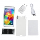 "No.1 S7+ MTK6592 Octa-Core Android 4.3 WCDMA Smartphone w/ 5"" Screen, Wi-Fi and GPS - White"