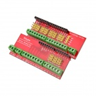Screw Shield V3 Terminal Expansion Boards for Arduino UNO R3 - Red (2 PCS)