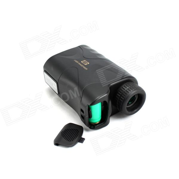 Aite 6X 24mm Hunting Laser Range / Speed Finder - Black (1 x CR2) maifeng 10x 25mm handheld hunting laser range finder black army green 1 x cr2
