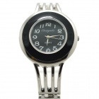 Buy Fashion Analog Quartz Bracelet Watch Women - Black + Silver