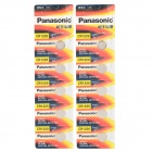 PANASONIC 1220 3V Li-ion CR1220 Cell Button Batteries - Orange + Yellow (10 PCS)