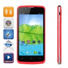 "ZOPO ZP580 Android 4.2 Dual-core WCDMA Bar Phone w/ 4.5"" Screen, Wi-Fi and GPS - Deep Pink"