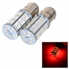 SENCART 1157 30LM 620nm 10W 5730 SMD LED Red Light Car Brake / Lenkungs Lampe (2ST / DC 12 ~ 16V)