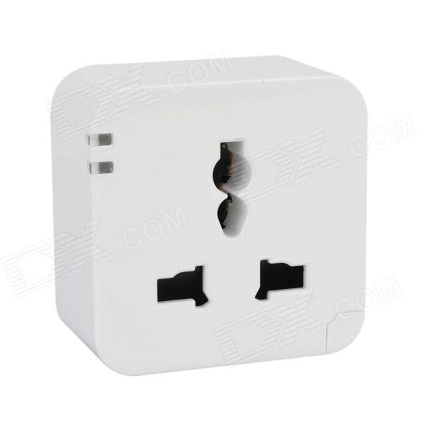 Universal 10A 3W AU Plug Smart Wi-Fi Power Socket - White (90~260V) gira gira esp glass c салатовое стекло рамка 5 ая 0215518