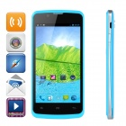 "ZOPO ZP580 Android 4.2 Dual-core WCDMA Bar Phone w/ 4.5"" Screen, Wi-Fi and GPS - Blue"