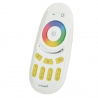 RGB Light / Color Temperature Touch Remote Control Controller - White + Beige (2 x AAA)