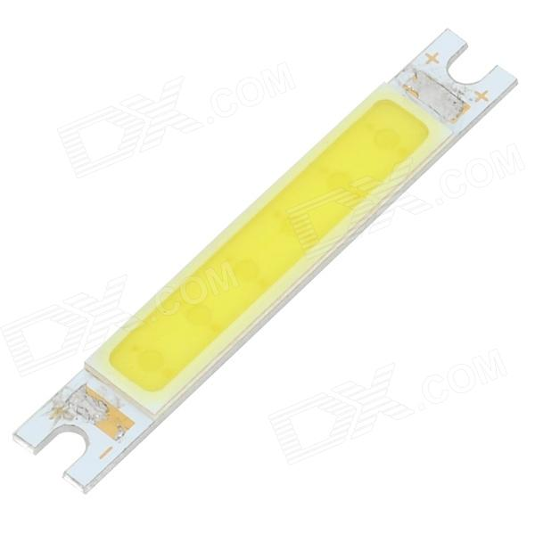 41-z 3W 180lm 6000K 6-COB LED White Light Module - Yellow + Silver (9~12V)