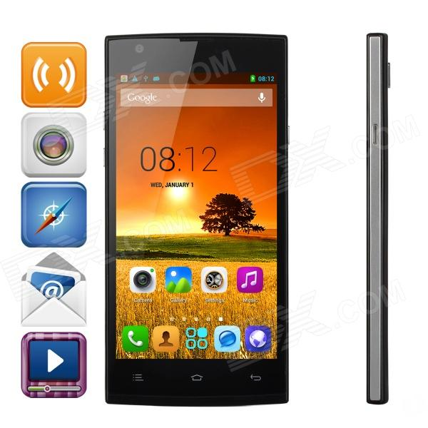 ZOPO ZP780 Quad-Core Android 4.2.2 WCDMA Bar Phone w/ 5.0 QHD, Wi-Fi and GPS - Black zopo zp780 quad core android 4 2 2 wcdma bar phone w 5 0 qhd wi fi and gps black