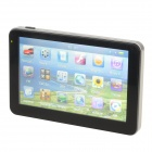 84H-38 5 Inch TFT Screen WinCE 6.0 Car GPS Navigator w/ Multinational Map / TF Slot - Black + Silver
