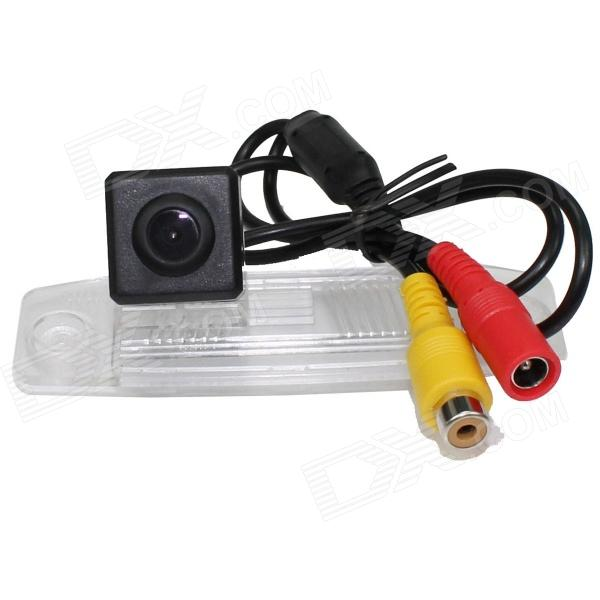 LsqSTAR ST-1011 CCD Wide Angle Car Rearview Camera for Kia Sportage R / Rondo - Black