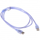 High-Speed USB 2.0 Male to Male Data Cable - Blue (150cm)