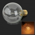 G80-23 E27 40W 165lm 3000K Warm White Light Tungsten Filament Bulb - White + Bronze (AC 220~240V)