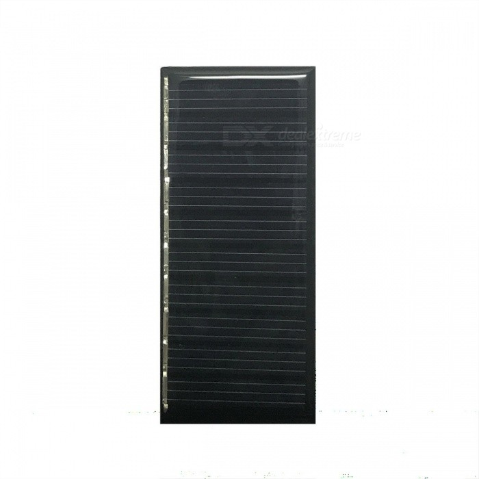 где купить WN-04 0.3W 5V 60mA Polycrystalline Silicon Solar Power Panel - Black (86 x 38mm) по лучшей цене