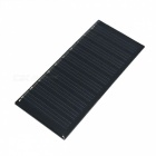 WN-04 0.3W 5V 60mA Polypii Solar Power Panel - Musta (86 x 38mm)