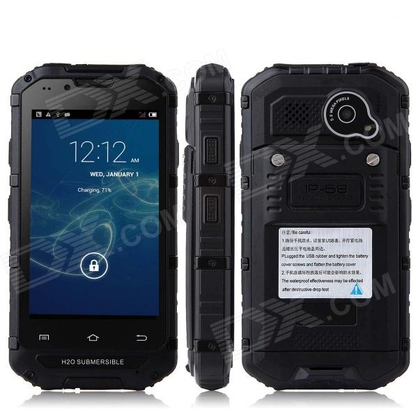 """Discovery V6  4.0"""" Screen MTK6572 Dual-Core Android 4.2.2 GSM Bar Phone – Black"""