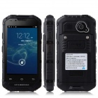 Discovery V6  4.0'' Screen MTK6572 Dual-Core Android 4.2.2 GSM Bar Phone - Black