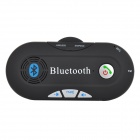 LR-30 Bluetooth V3.0 Handsfree Car Speaker Phone w/ FM - Black