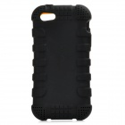 Protective BG Silicone Case for IPHONE 5 / 5S - Black