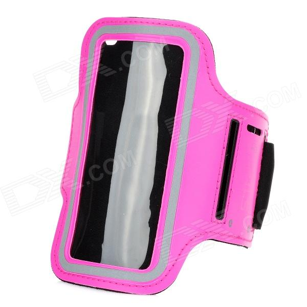 Fashion Sports Armband for Samsung Galaxy S5 Mini - Dark Pink