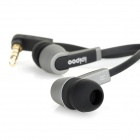 ipipoo P10 In-Ear Earphone - Black + Grey (3.5mm)