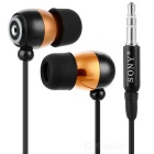 In-Ear Stereo Earphone (3.5mm Jack/130cm Cable)