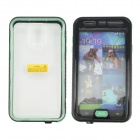 Professional Waterproof Diving Protetcive Full Body Case for Samsung S5 G9006 - Black + Transparent