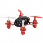 Wltoys V282 Mini 4-CH 2.4GHz Radio Control R/C Flying Saucer w/ Gyro - Black