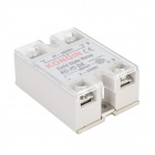 KG-25DA 25A Zinc + ABS Solid State Relay - Silver + Grey