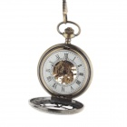 ORKINA Stainless Steel Analog Manual Mechanical Pocket Watch - Bronze
