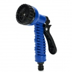 Multi-function Hose Spray Head Nozzle - Blue + Black