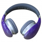OYK OK-400 3.5mm Wired Stereo Headband Headphone w/ Microphone - Orchid