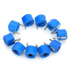 5Pf 6mm Plastic Variable Capacitors - Blue (10 PCS)