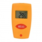 "HT-200 Mini 1.0"" Screen IR Thermometer - Yellow + Red (1 x CR2032)"
