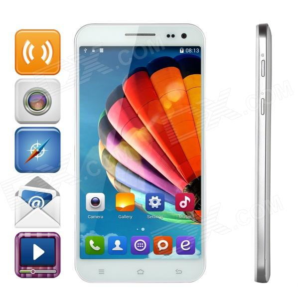 "ZOPO ZP998 Android 4.4 WCDMA Octa-core Bar Phone w/ 5.5"" Screen, Wi-Fi and ROM 16GB - White"