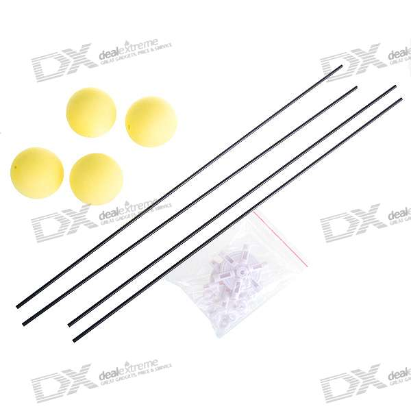 Carbon Fiber Trainee Landing Kit for Esky + 500/450/250 RC Helicopter