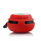 HY-BT19 Bluetooth V2.1 Mini Speaker w/ Microphone / TF / FM for Smartphones / Tablets - Red