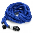 US Standard 50ft Home Garden Flexible Natural Latex Water Pipe - Blue