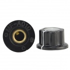 Aluminum Alloy Volume / Potentiometer Knob Caps - Black (10 PCS)