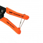 6P + 8P Network / Communication Wire Crimpers Pliers - Black + Orange
