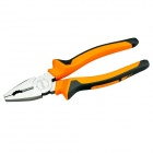 "YDL-CT1-3 Industrial-Grade CR-V + Rubber 6"" Wire Cutter / Plier - Orange + Black + Silver"