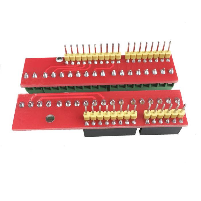 Diy wiring terminal expansion board module for hf arduino