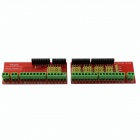DIY Wiring Terminal Expansion Board Module for HF-Arduino - Red (2PCS)